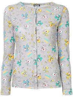рубашка с мультипликационным принтом Hysteric Glamour