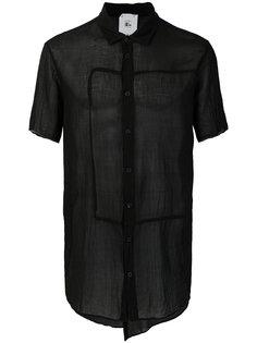 прозрачная рубашка с короткими рукавами Lost & Found Rooms