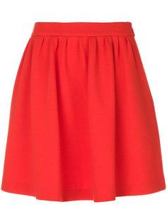 расклешенная юбка со сборкой Moschino