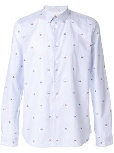 рубашка с цветочной вышивкой Ps By Paul Smith