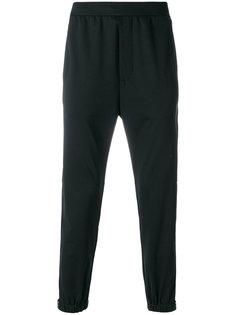 спортивные брюки с эластичными манжетами Prada