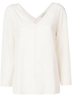 блузка с V-образной горловиной Forte Forte