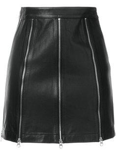 мини-юбка на молнии McQ Alexander McQueen