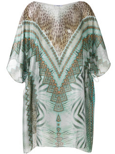 printed kaftan cover up Parah