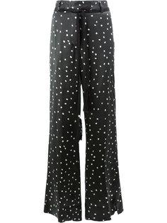 широкие брюки в полоску  Ann Demeulemeester