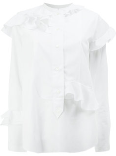 блузка с рюшами Maison Rabih Kayrouz