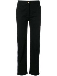 джинсы слим с полосками  Balmain