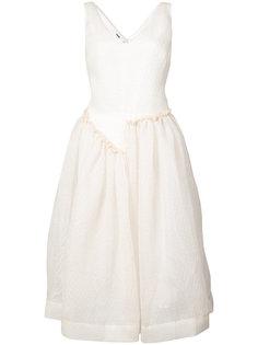 расклешенное платье с V-образным вырезом Jourden