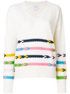 свитер с V-образным вырезом Barrie