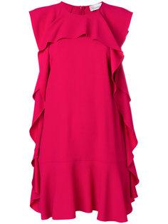 платье-шифт с оборками Red Valentino