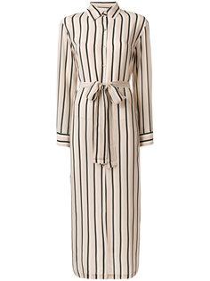 платье-рубашка в полоску  Asceno