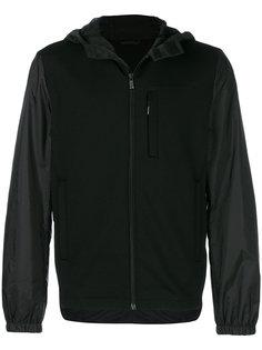 спортивная куртка с капюшоном Prada