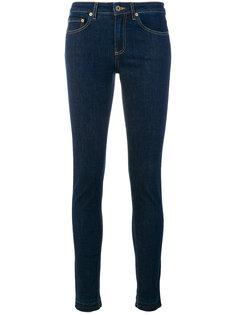 джинсы скинни Woolrich