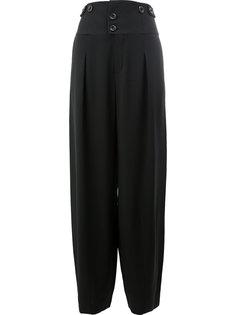 широкие брюки  с завышенной талией Chloé