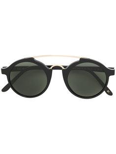 солнцезащитные очки в круглой оправе L.G.R