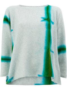 свитер с абстрактным узором Suzusan