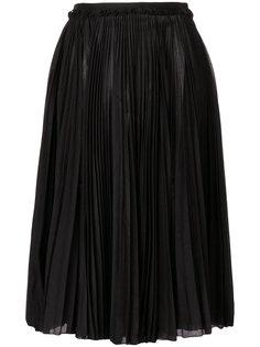 пышная юбка миди  Rochas