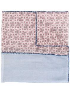 patchwork logo scarf Hemisphere