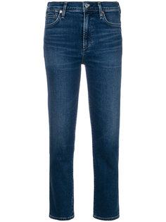 укороченные джинсы-сигареты Cara Citizens Of Humanity