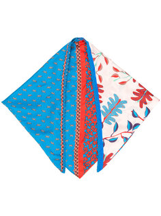 printed scarf Marc Cain