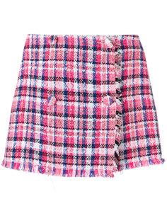 мини-юбка в клетку  MSGM