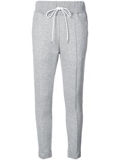 спортивные брюки кроя слим Sacai