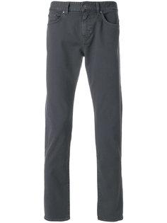 эластичные джинсы узкого кроя Boss Hugo Boss