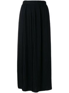 плиссированная юбка миди Mm6 Maison Margiela