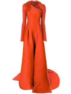 асимметричное приталенное платье  Maticevski