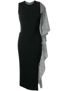 платье-футляр с кейпом  Maticevski