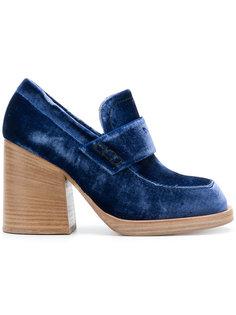 туфли Momsy в стиле лоферов Marni