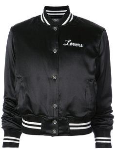 куртка-бомбер с принтом Lovers Amiri