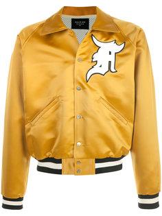куртка-бомбер с вышивкой  Fear Of God