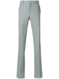 брюки прямого кроя со складками  Fendi