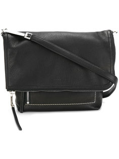 folded flap shoulder bag Rick Owens