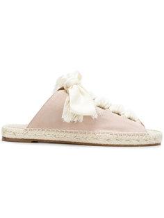 сандалии на завязке спереди Chloé