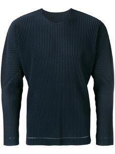 свитер с ребристой фактурой Homme Plissé Issey Miyake