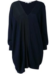 "платье дизайна ""колор-блок"" Stella McCartney"