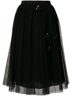 юбка миди из тюля  Blugirl