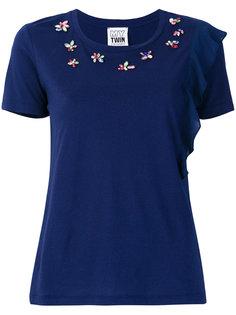 декорированная футболка Twin-Set