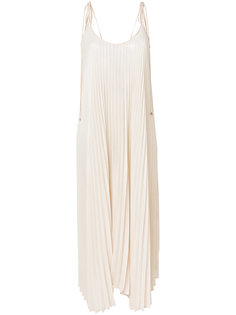 плиссированное платье  Twin-Set