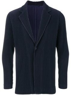пиджак с ребристой фактурой Issey Miyake