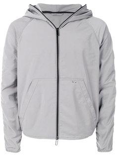 непромокаемая куртка на молнии Emporio Armani
