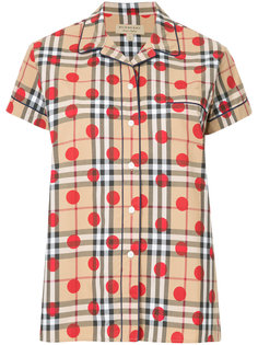 spotted House Check shirt Burberry