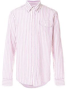 полосатая рубашка на пуговицах Gant Rugger
