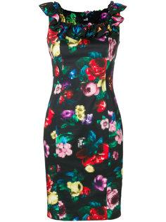 платье с цветочным принтом  Love Moschino