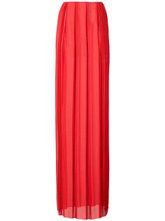 длинная плиссированная юбка Vionnet