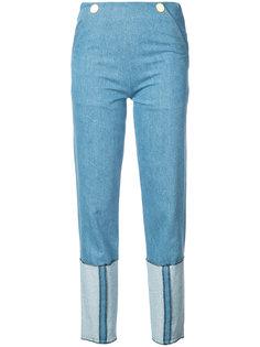джинсы прямого кроя Vionnet