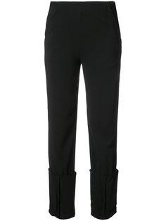 брюки с подвернутыми манжетами  Vionnet