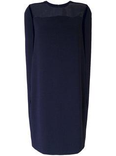 драпированное платье шифт Max Mara